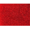 Seedbead Transparent Red 10/0